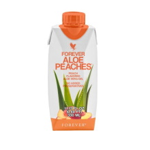 Forever Aloe Bits n' Peaches Mini | Forever Living Products USA