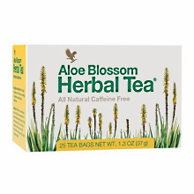 Aloe Blossom Herbal Tea | Forever Living Products  USA - Canada