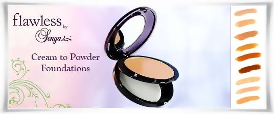 Cream to Powder Foundations - Flawless by Sonya | Forever Living Products USA - Canada
