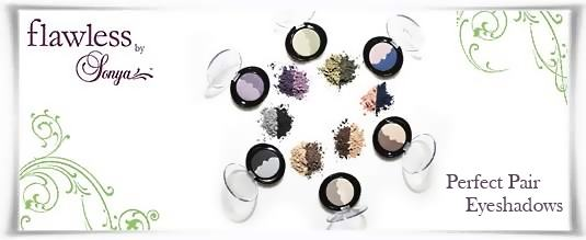 Perfect Pair Eyeshadows - Flawless by Sonya | Forever Living Products USA - Canada