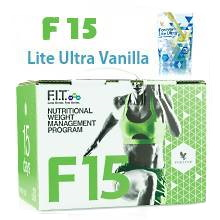 F15 Beginner 1 & 2 - Lite Ultra Vanilla | Forever Living Products USA - Canada