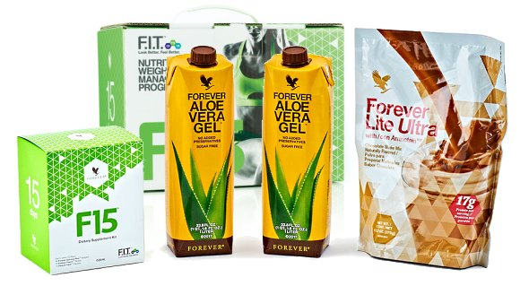 F15 - Nutritional Weight Management Program Packs | Forever Living Products USA - Canada