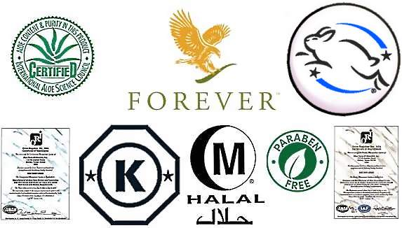 Forever Living Products Certificates